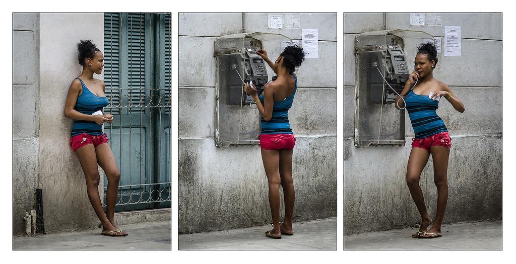Jinetera in Havana